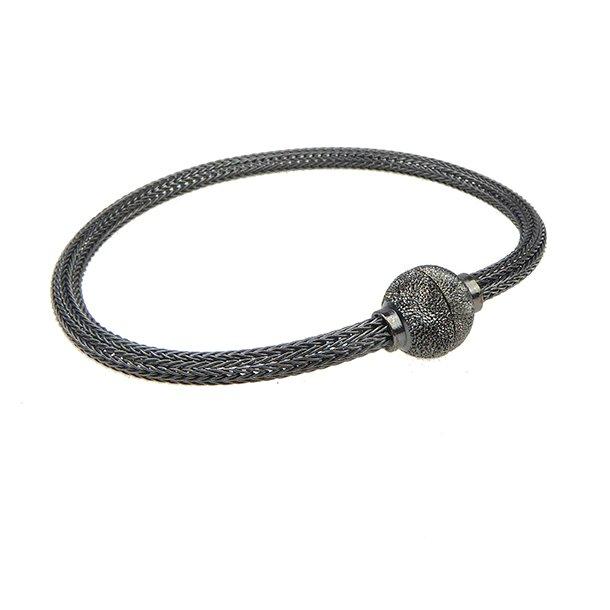 Armbånd & halskæde - Oxyderet 3,4mm