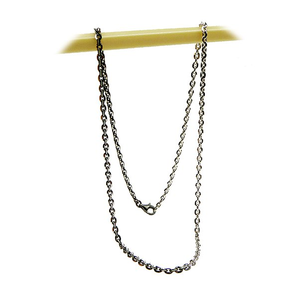 Armbånd & Halskæde 16-100cm - black rhd./rhd