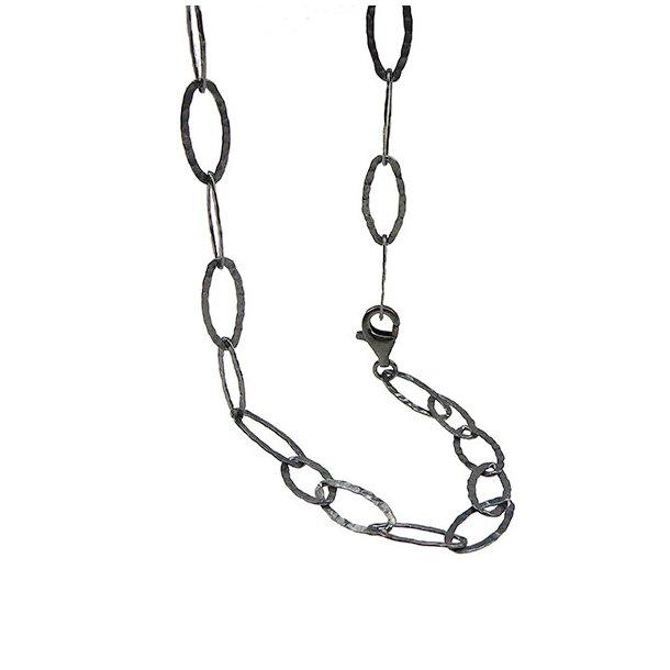 Armbånd & halskæde - Oxyderet
