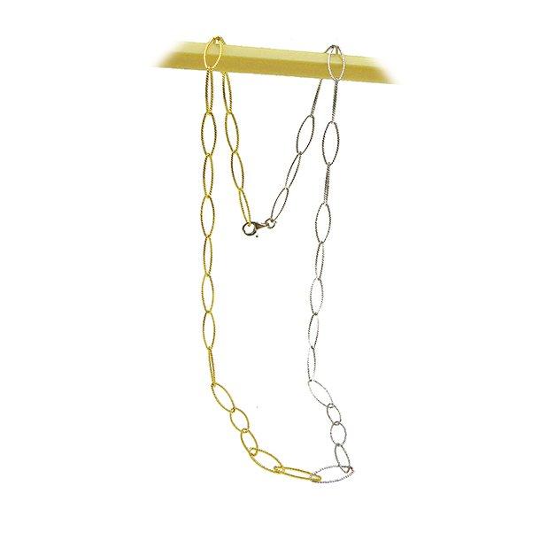 Armbånd & Halskæde 16-100cm - rhodium/gold