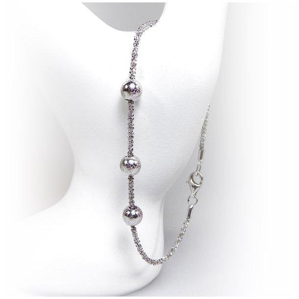 Arm - Halskæde m.3 stk Magic Beads - Ø6mm