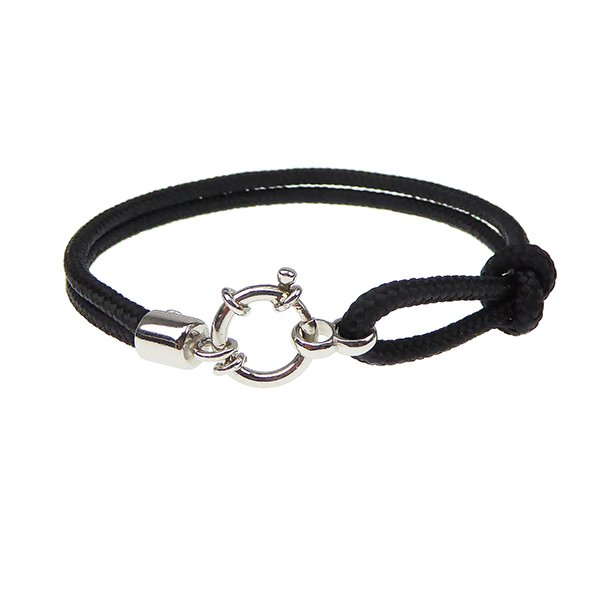 566-Rope-BL. Outdoor Rope & Sterling Silver