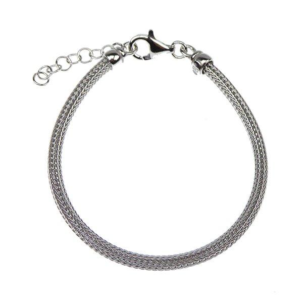 Armbånd & halskæde - Ø 3,5mm - Rhodium