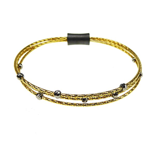869743-A, 3 rk/rows Bracelet