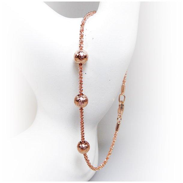 Arm - Halskæde m.3 stk Magic Beads-Ø6mm