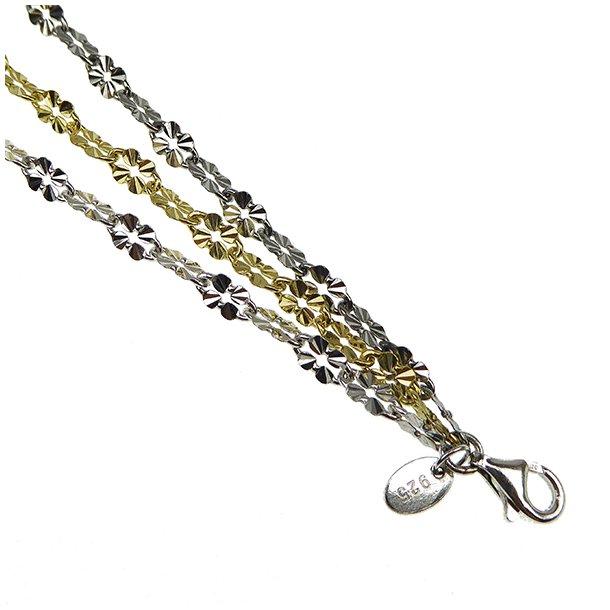 935457.Glow - 3 rows/colours brace/necklace