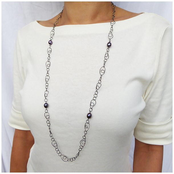 95004-L-SP.Charleston Long Necklace