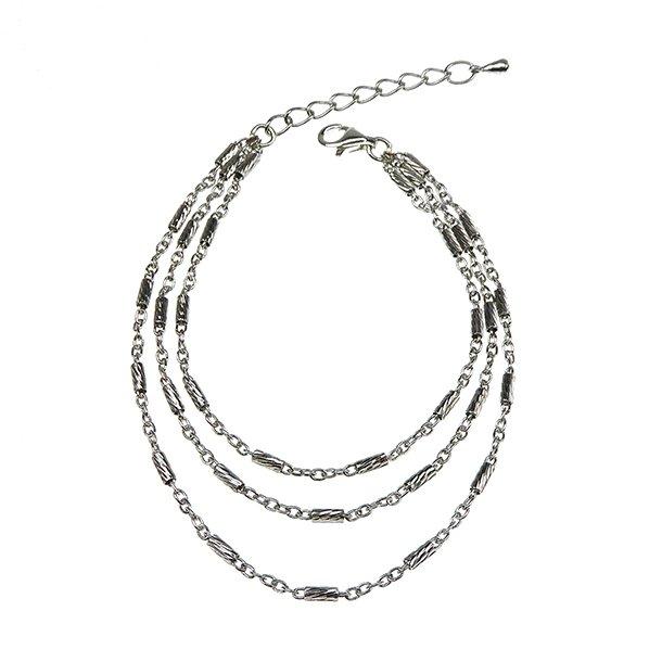 Brace & Necklace Sterlingsilver/925 Rhodium