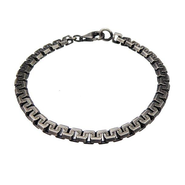 Armbånd & halskæde -  Let oxyderet 5,5x3,1mm