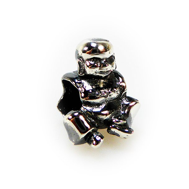Charms - Buddha oxidised/925