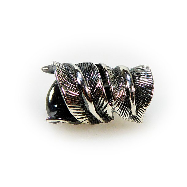 Fjer / Feather Oxidised/925 no.3202