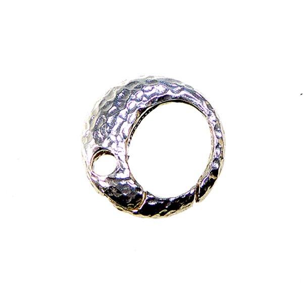 Smykkelås 19mm rund/hamret overflade